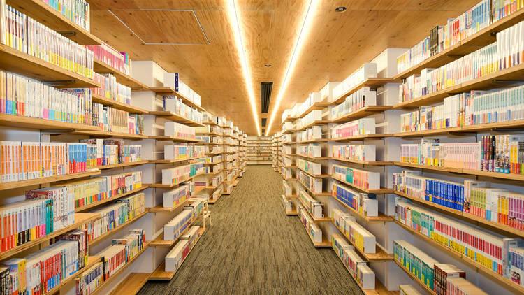 マンガ・ラノベ図書館