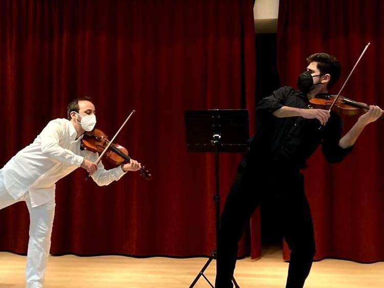 Llevar a los peques a un concierto de música clásica