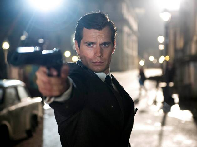 Henry Cavill in Man From Uncle