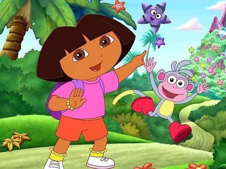 Dora, la explroadora