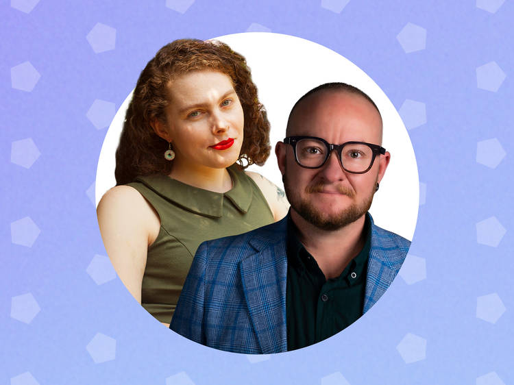 Teddy Cook and Liz Duck-Chong, TransHub creators