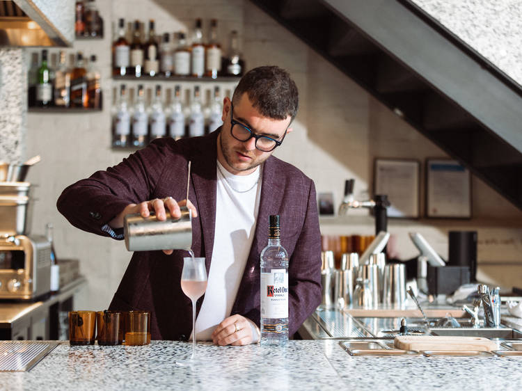 Evan Stroeve given third place in the World Class Bartender of the Year