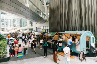 Taikoo Place Tong Chong Street Market