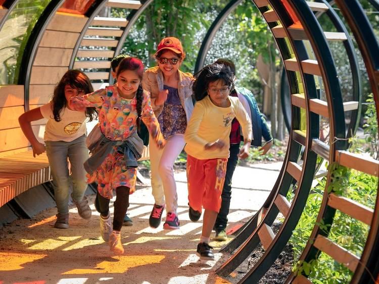 Nurture a budding nature lover at Kew's Children's Garden