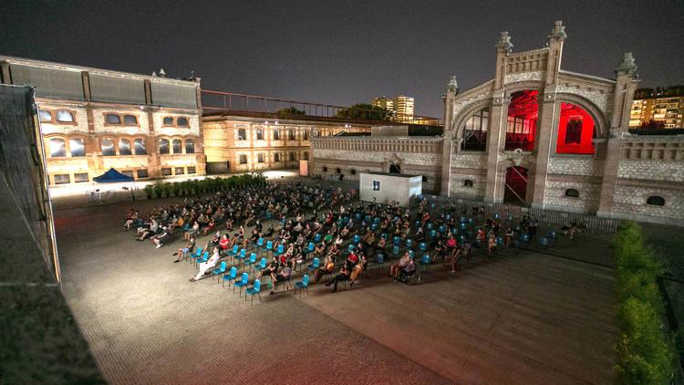 Cineplaza de verano Matadero Madrid