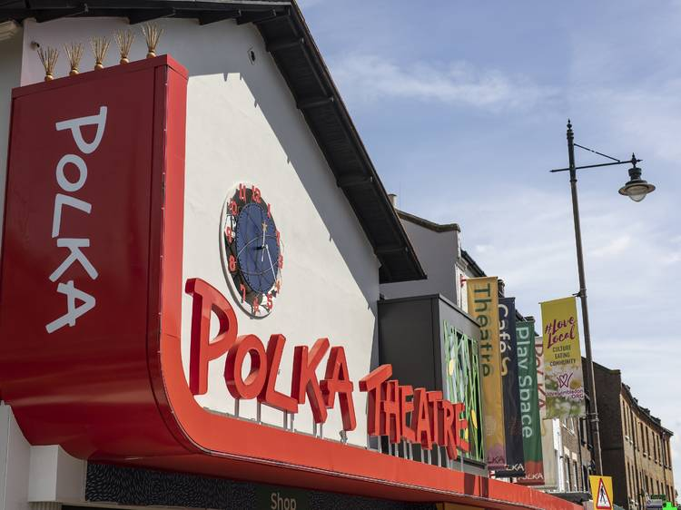 See a show and play in the treehouse at the Polka Theatre