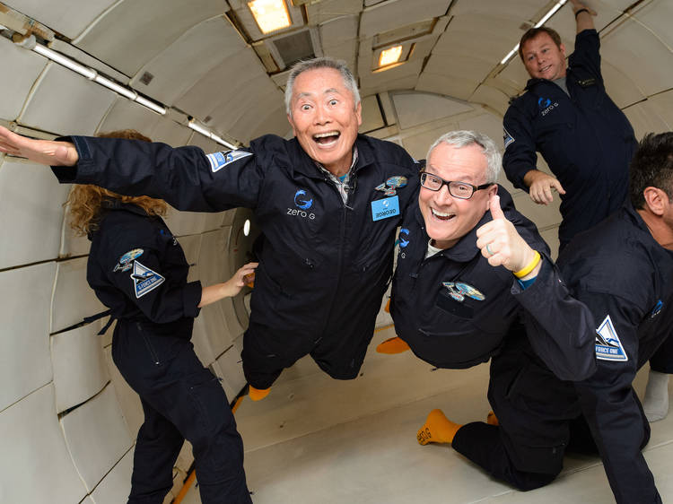 Go weightless at this Zero-G experience