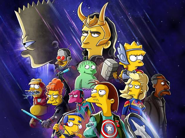 El bueno el Bart y el Loki