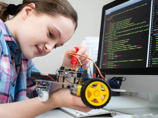 Taller de programación para niñas