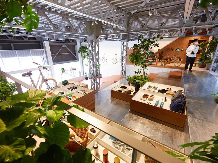 人気コーヒー店も入居、清澄白河にTOKYOBIKE旗艦店がオープン