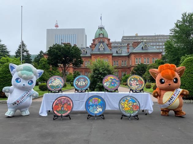 Hokkaido just got seven new Pokémon manhole covers featuring Vulpix and friends