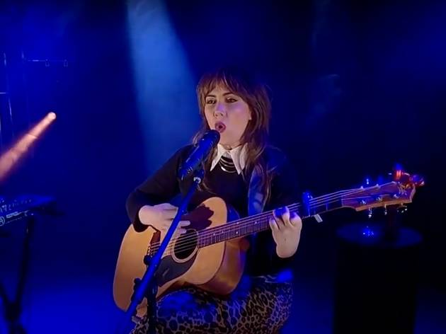 Ella Hooper performs for Isol-Aid Homegrown