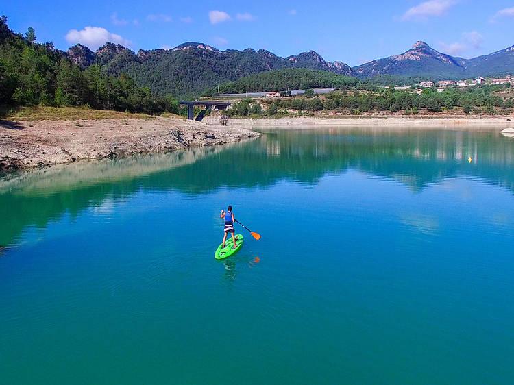 Kayak y paddle surf en el pantano de la Llosa del Cavall