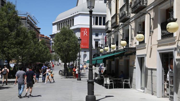 Renovación calle Arenal