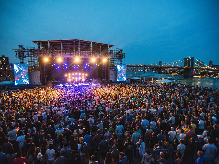Head out for The Rooftop at Pier 17's Summer Concert Series