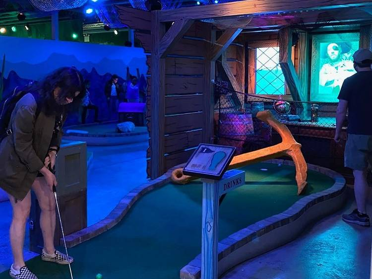 Shipwrecked Haunted House for Kids
