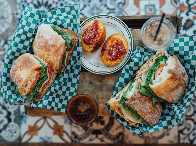 The $9.50 Chicken Cutlet Sandwich at Clarke Cafe