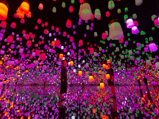 teamLab Borderless takes Guinness World Record for the world's most visited museum