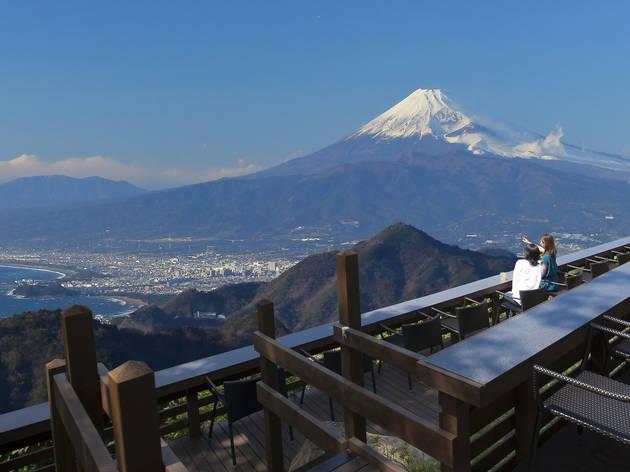 The sky-high Fujimi Terrace in Shizuoka reopens with stunning views of Mt Fuji