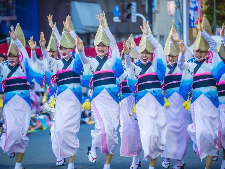 麻布十番祭りや隅田川花火大会など、祭りや花火大会の中止情報