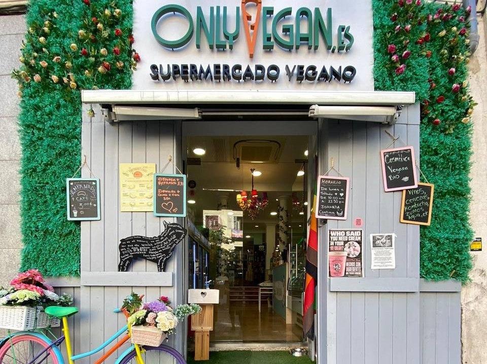 Supermercado vegano Madrid