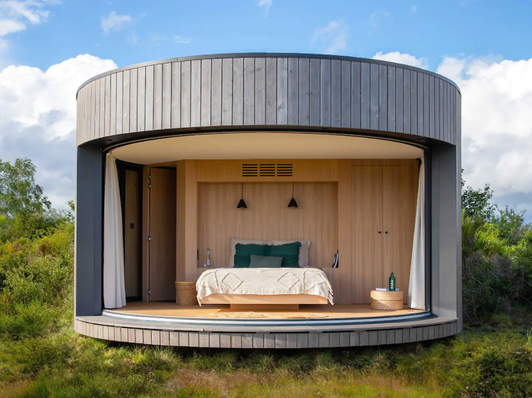 Stay in this gorgeous tiny house on a French volcano field for just €1