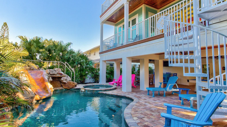 Vrbo vacation house in Florida