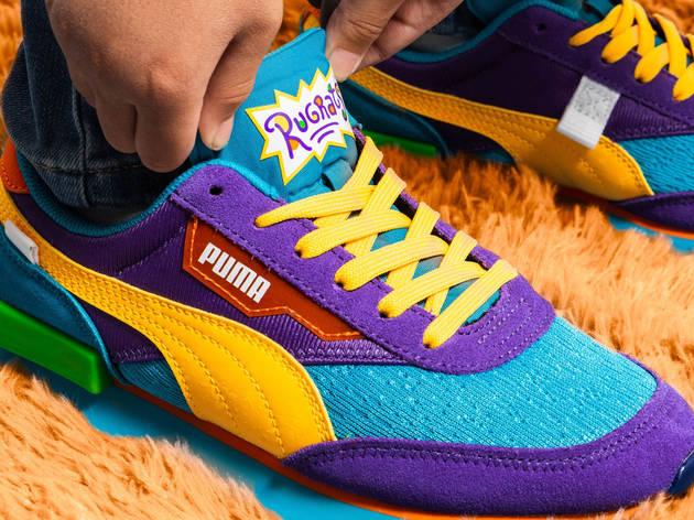 Tenis Future Rider de Puma para niños, edición especial de Rugrats