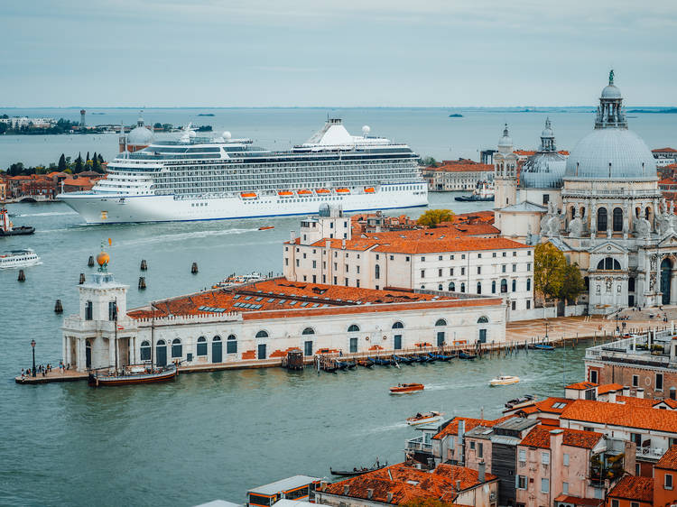 Venice has officially banned cruise ships from the city