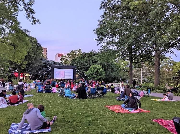 Movie Nights at the Garden