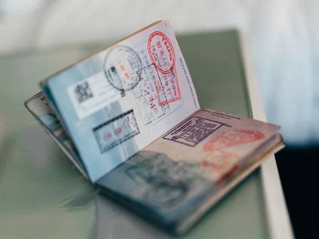 passport, travel, stamps, putovnica, putovanje