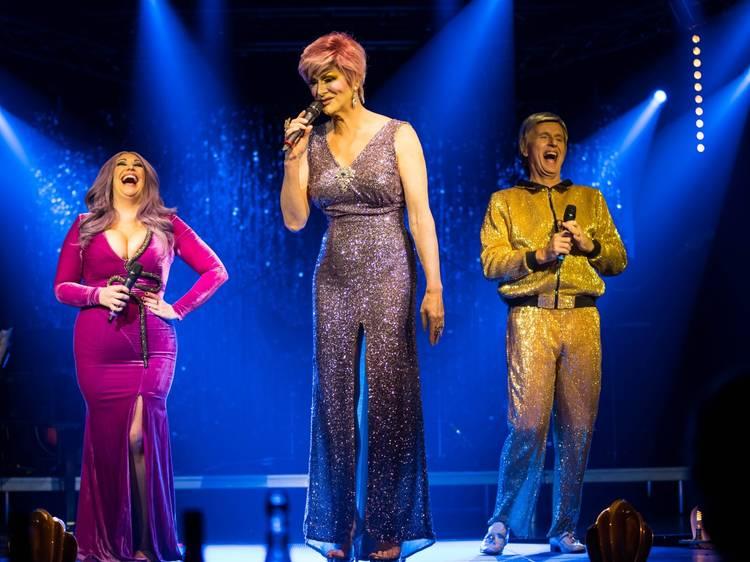 Cabaret star Catherine Alcorn and drag queen Verushka Darling headline this digital gig