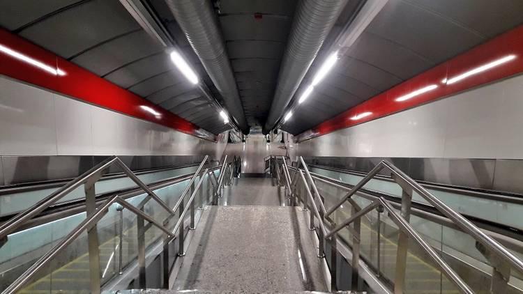 Túnel peatonal Gran Vía-Sol