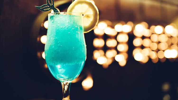 Blue Drink - Little Mermaid bar