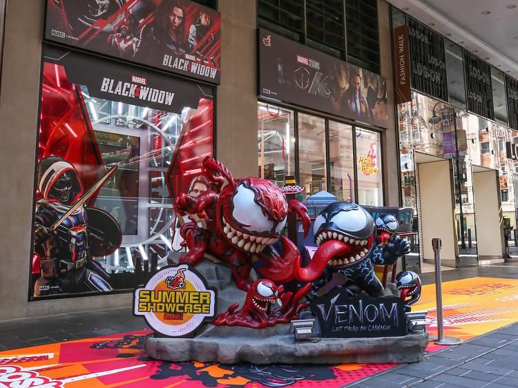 「Hot Toys Summer Showcase 2021」大型珍藏人偶展覽