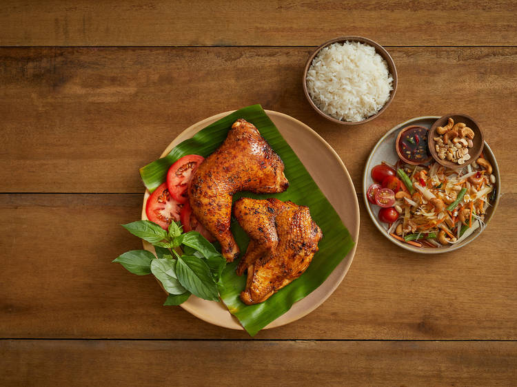 Time Out and Grab are offering a promo code to make ordering from local restaurants easier