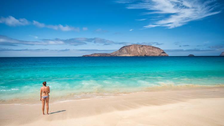 Playa de las Conchas (Turismo de Lanzarote)