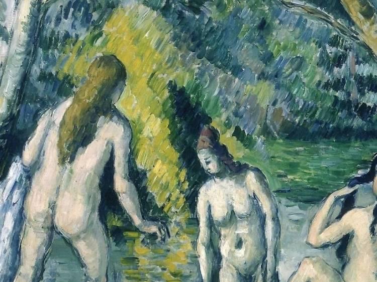 Petit Palais • Trois baigneuses (Paul Cézanne, 1879-1882)
