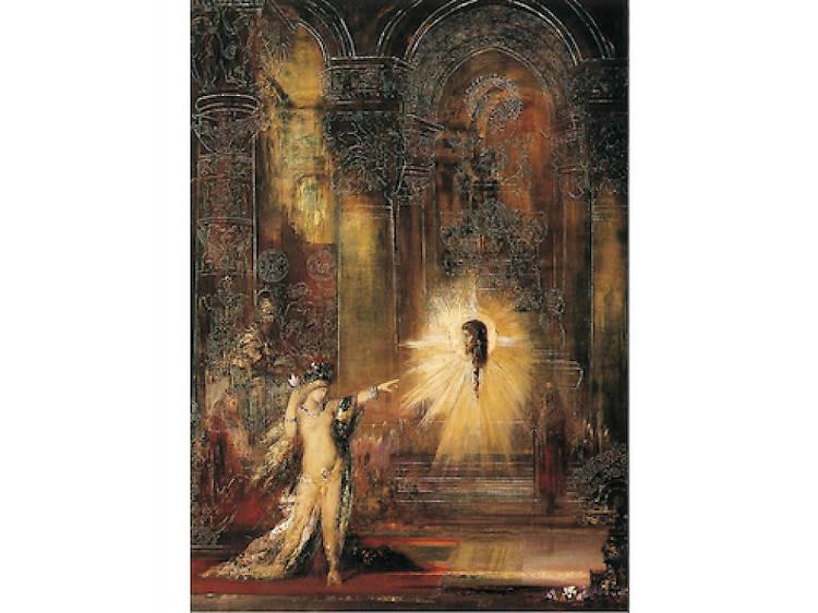 Musée Gustave Moreau • L'Apparition (Gustave Moreau, 1876)