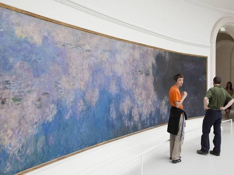 Musée de l'Orangerie • Les Nymphéas (Claude Monet, 1914-1926)