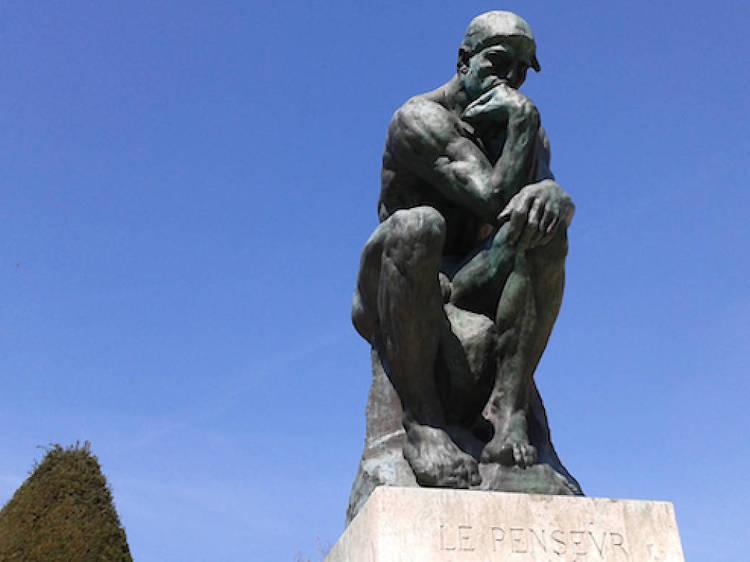 Musée Rodin • Le Penseur (Auguste Rodin, 1904)