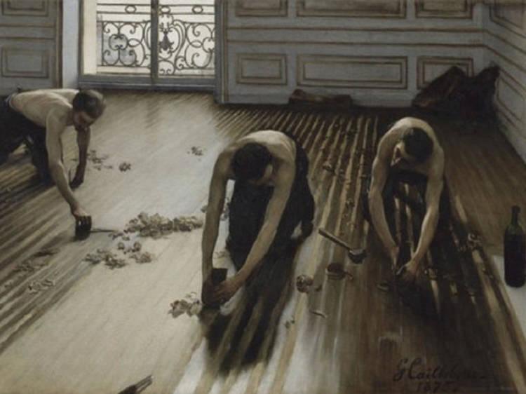 Musée d'Orsay • Les Raboteurs de parquet (Gustave Caillebotte, 1875)