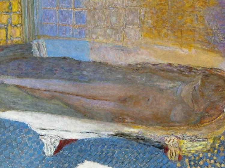 Musée d'Art moderne • Nu dans le bain (Pierre Bonnard, 1936)
