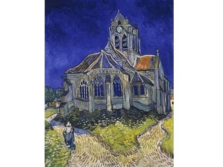Musée d'Orsay • L'Eglise d'Auvers-sur-Oise (Vincent Van Gogh, 1890)