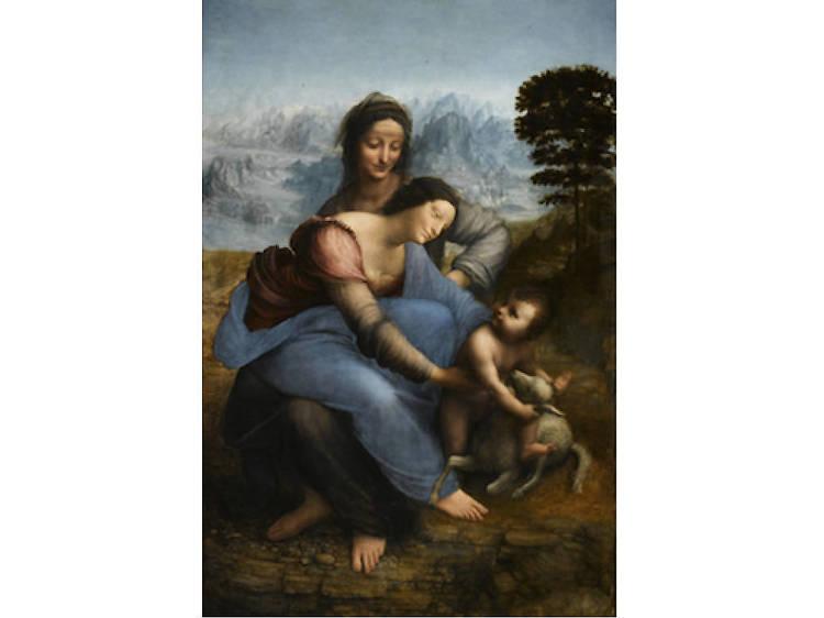 Musée du Louvre • Sainte Anne (Léonard de Vinci, c. 1503-1519)