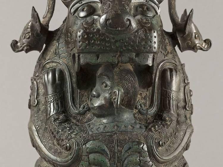 Musée Cernuschi • La Tigresse (Chine, dynastie des Shang, c. 1550-1050 av. J.-C.)