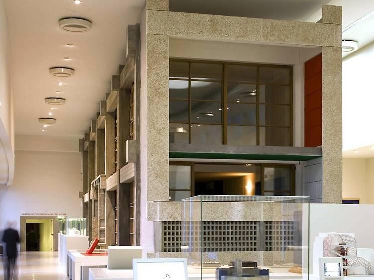 Cité de l'architecture • Unité d'habitation Le Corbusier (Le Corbusier, 1945-1952)
