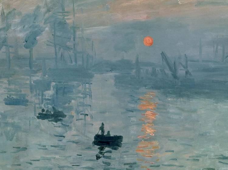 Musée Marmottan-Monet • Impression soleil levant (Claude Monet, 1872)