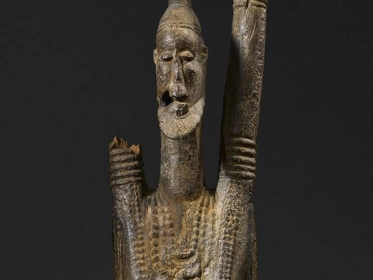 Musée du Quai Branly • Statue anthropomorphe (Mali, Xe-XIe siècle)