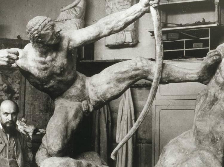 Musée Bourdelle • Héraklès archer (Antoine Bourdelle, 1906-1909)